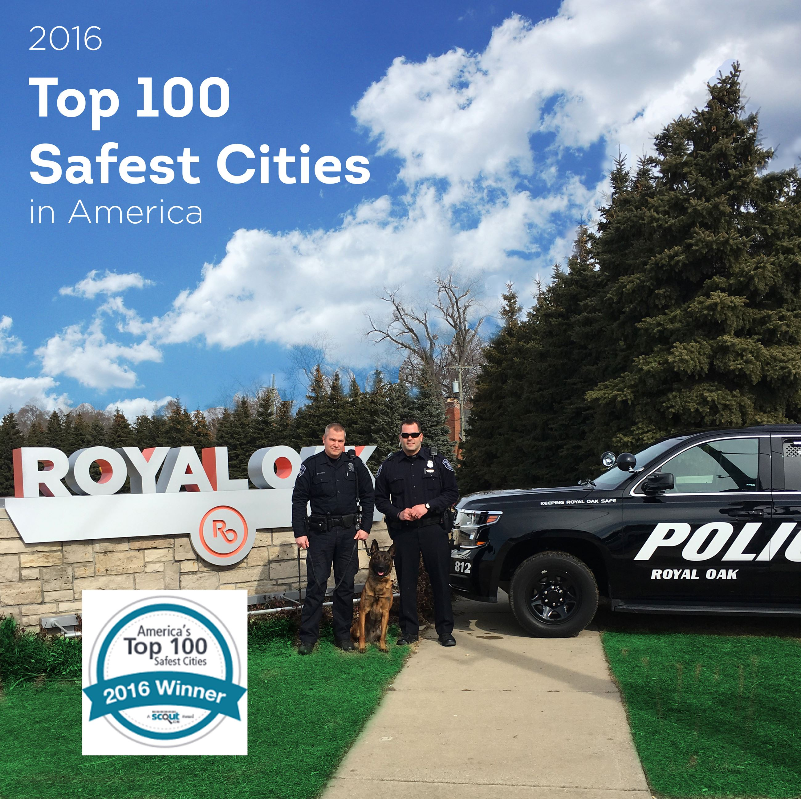 Top 100 Safest Cities in America