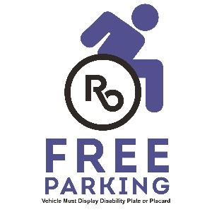 Free HC Parking Graphic