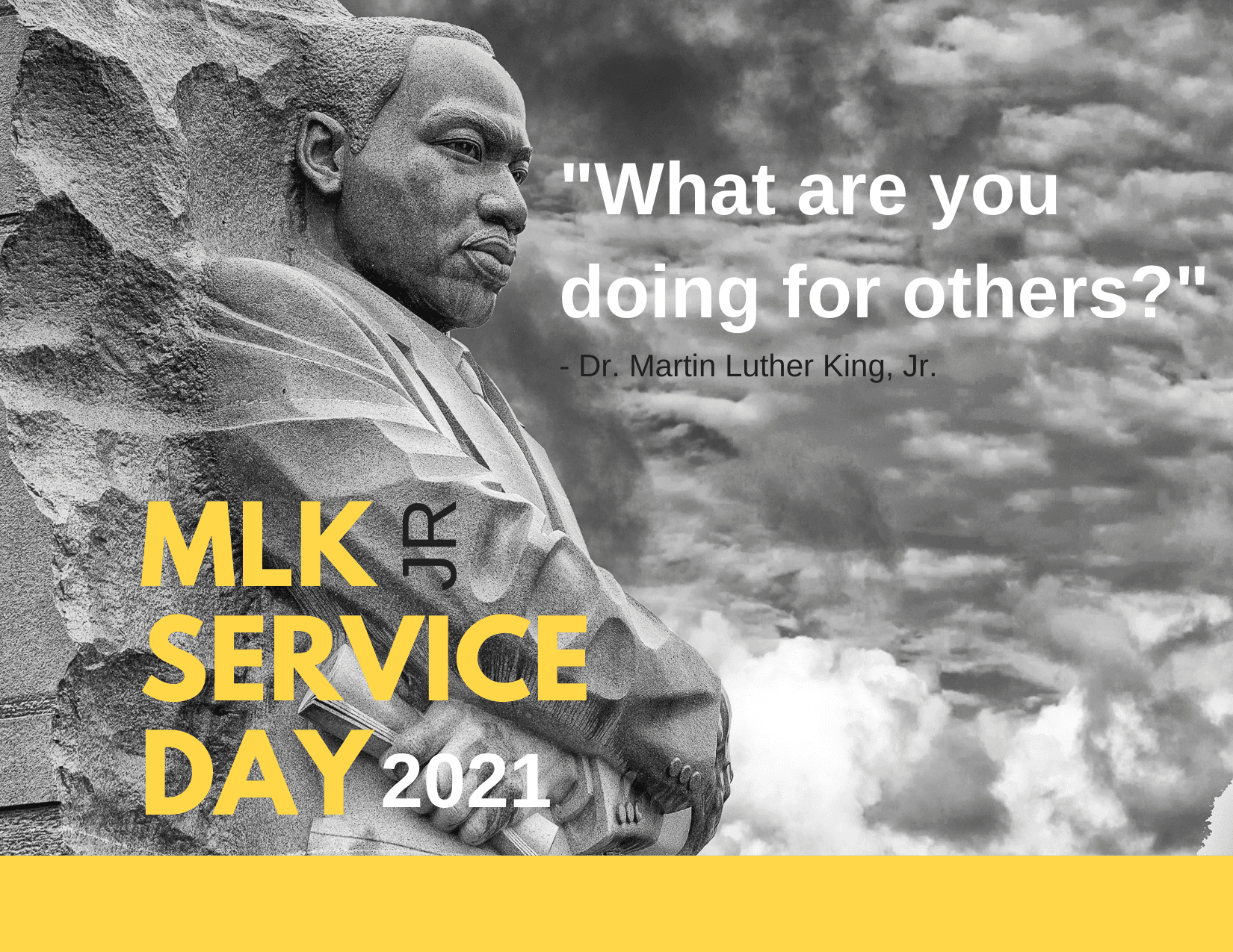 2020 MLK SERVICE Day Postcard