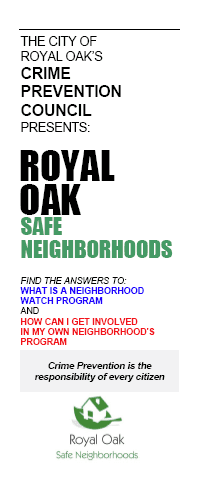 Homeowners-Neighborhood Association Brochure